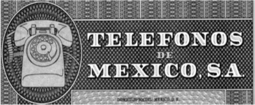 TITULOS: ACCIONES TELMEX 108 Títulos accionarios <br>8 Títulos de obligaciones hipotecarias y <br> 22 Títulos de obligaciones quirografarias