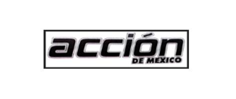 2 MARCAS: ACCION DE MEXICO Registro IMPI 1324013 CLASE 35 <BR>PUBLICIDAD GESTION DE NEGOCIOS COMERCIALES <BR>ADMINISTRACION COMERCIAL TRABAJOS DE OFICINA Y ACCION DE MEXICO Y DISEÑO